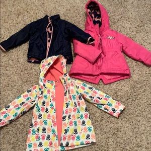 Other - 3T Girls Jacket Lot